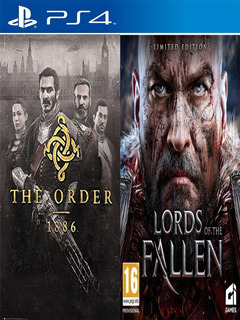 The Order 1886 + Lords Of The Fallen Digital Ps4