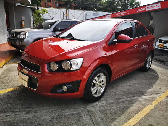 Chevrolet Sonic Lt Mecánico Full Equipo - Impecable!