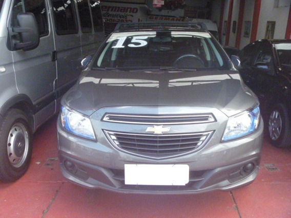 Chevrolet Onix Cinza 1.4 Lt 5p 2014/2015 Completo