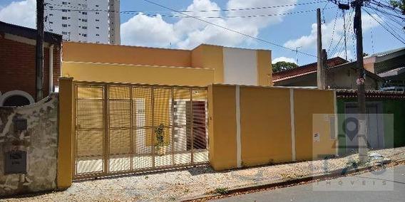 Casa Comercial Para Aluguel Possui 180 Metros Quadrados Com 4 Quartos Em Taquaral - Campinas - Sp - Ca0312