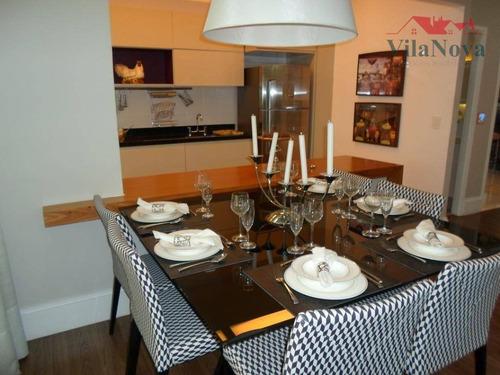 Apartamento Com 3 Dormitórios À Venda, 93 M² Por R$ 782.679,50 - The Park View - Indaiatuba/sp - Ap2346