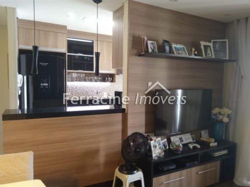 00825 -  Apartamento 2 Dorms. (1 Suíte), Jardim Flor Da Montanha - Guarulhos/sp - 825