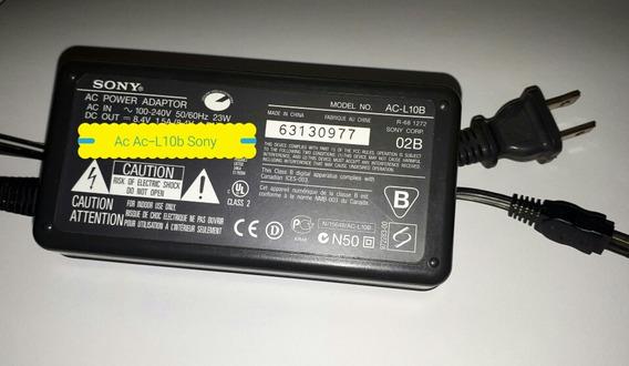 Fonte Carregador Sony Ac-l10b Produto Original Da Sony