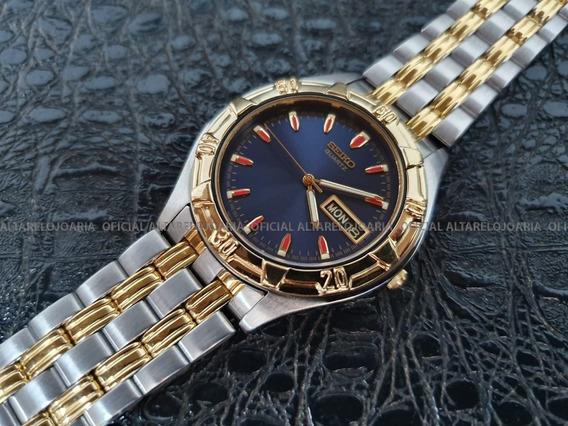 Relógio Masculino Seiko Vintage Quartz