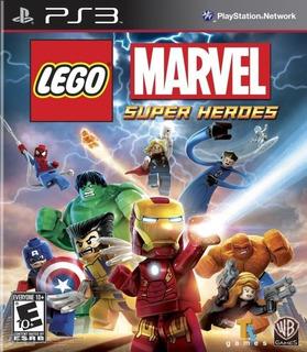 Lego Marvel Super Heroes Ps3 - Juego Fisico - Prophone