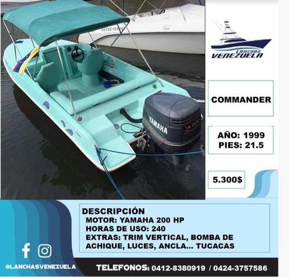 Lancha Commander 21.5 Lv107