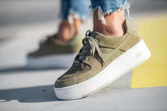 Zapatillas Nike Air Force Sage Low Green Olive