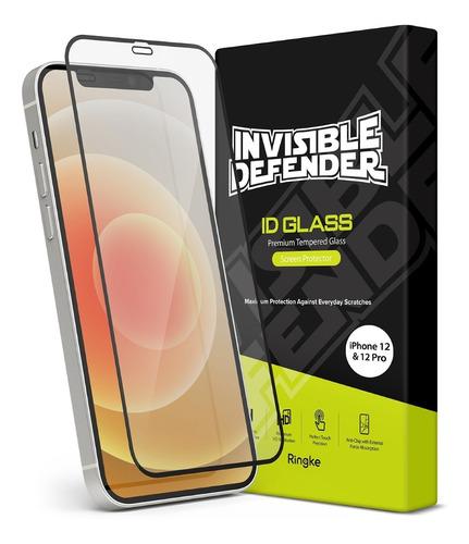 Vidrio Templado iPhone 12 & 12 Pro 6.1 Full Cover Ringke