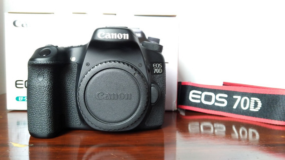 Câmera Canon 70d Menos De 13 Mil Clicks