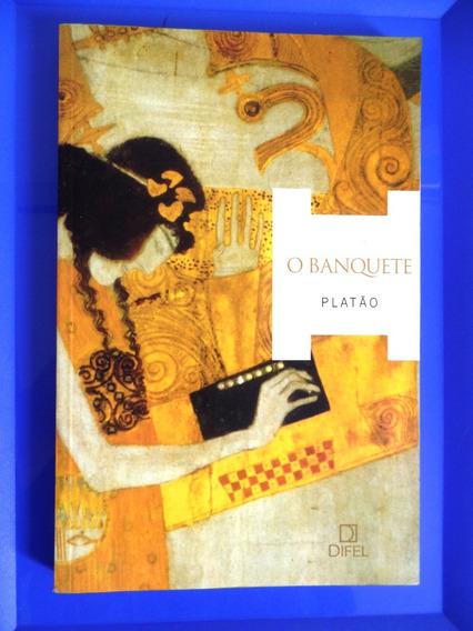 Livro - O Banquete - Platão Editora Difel - 3ª Edição 2005