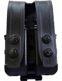 Porta Carregador Duplo Universal Em Polímero Maynards Mpc02