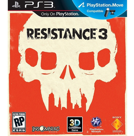 Resistance 3 (mídia Física) - Ps3