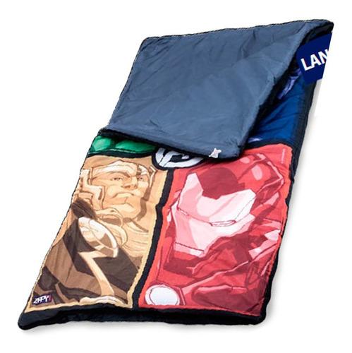 Saco De Dormir Avengers Vingadores Infantil Original Zippy