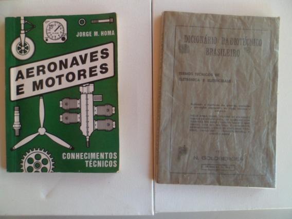 Lote 5 Livros Navegação Aérea, Met. E Técnico E 1 Civ Usados