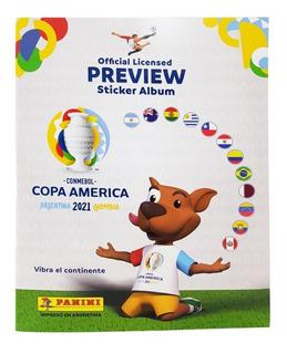 Copa America Preview Album Vacio - Barata La Golosineria