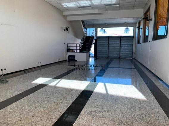 Salão Para Alugar, 300 M² Por R$ 4.800/mês - Vila Prudente - São Paulo/sp - Sl0059
