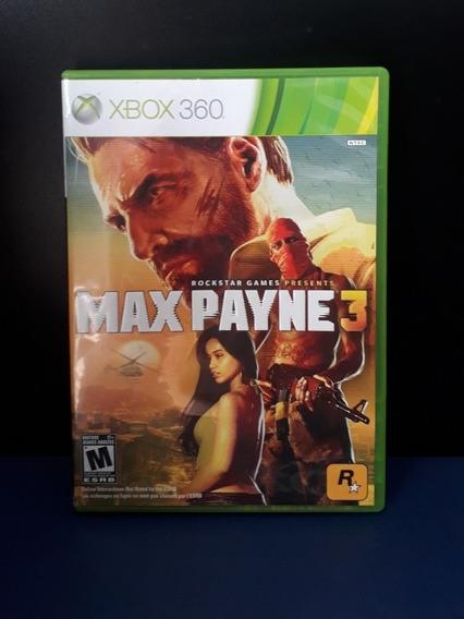 Max Payne 3 Xbox 360 Original Envio Rápido