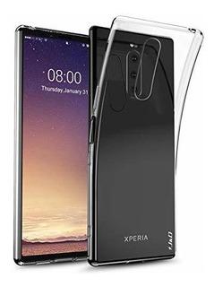 Estuche J Y D Compatible Con Xperia 1 [ultra-delgado] [livia