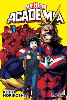 Boku No Hero Academia/my Hero Academy Ivrea Consulta X Tomos