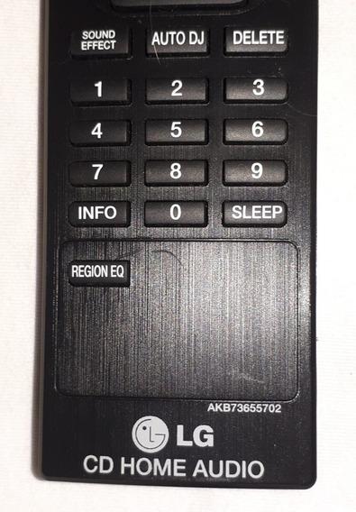 Controle Remoto LG Som Cd Home Akb73655702 Original
