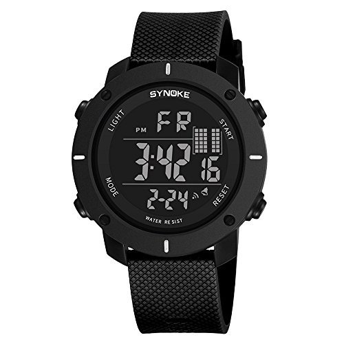 Reloj Impermeable Natación Reloj Deportivo Militar Multifun