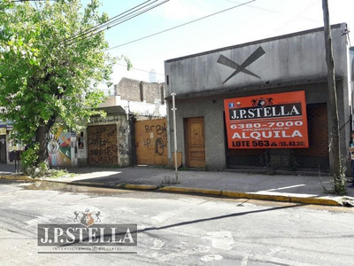 Lote De Terreno De 563 M² - Ideal Estacionamiento Y/o Garage - S.justo (ctro)