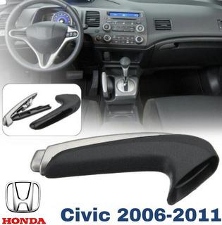 Kit Manopla Alavanca Puxador Freio De Mão Honda Civic 06/11