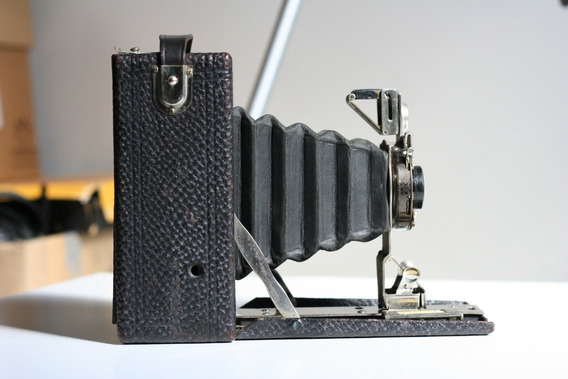 Câmera De Fole Kodak Premo 1 Fabricada Em 1913