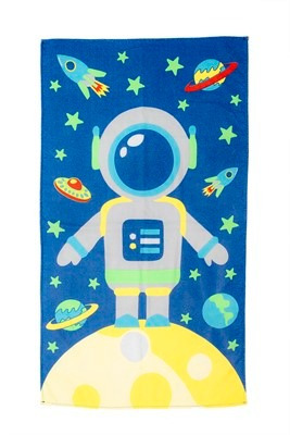 Toalha Kids Festa Do Pijama Azul - Baby Joy