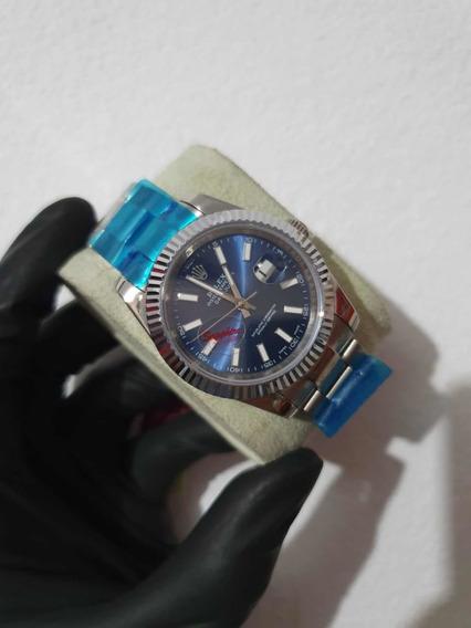 Relógio Masculino Datejust 40mm Azul