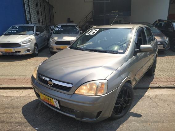 Chevrolet Corsa Premium Sedan 1.4 Flex Completo 2008
