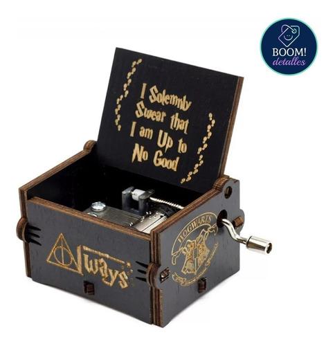 Imagen 1 de 6 de Caja Musical Harry Potter