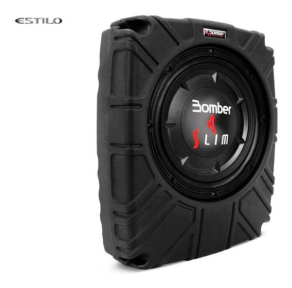 Caja Amplificada Bomber Con Subwoofer Slim 10