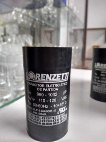 Capacitor Partida Lorenzetti, 860-1032 110v, 8 Por R$260