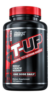 Nutrex T-up Mega Testosterone Booster 120 Caps Versão E U A