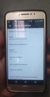 Celular Motorola E4 Plus Dourado 16 Gb Tudo Funcionado