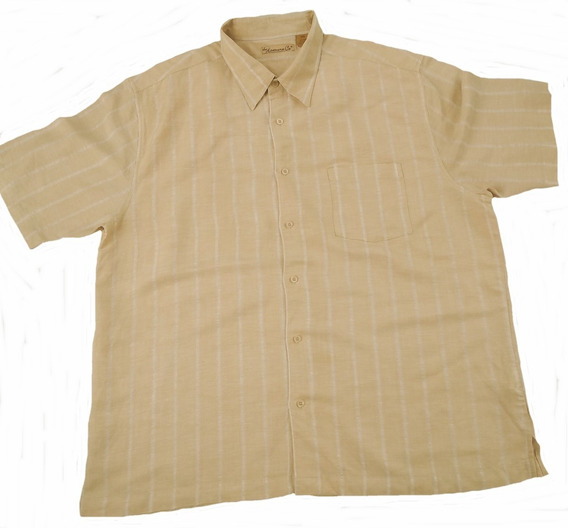 Camisa Manga Corta Talla 2-xl The Javanera Co.