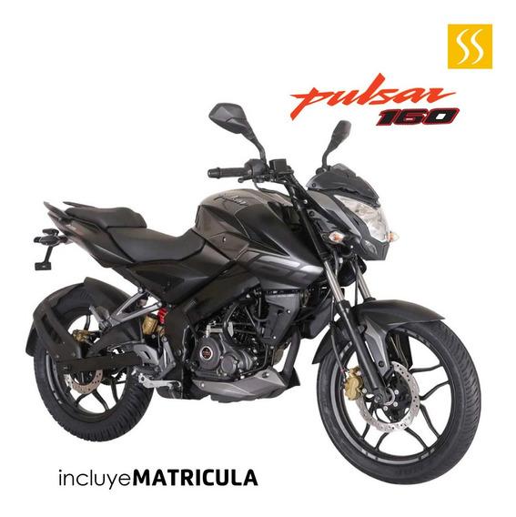 Moto Pulsar Ns 160cc Año 2020 0 Km Ploma Motor 4 Tiempos