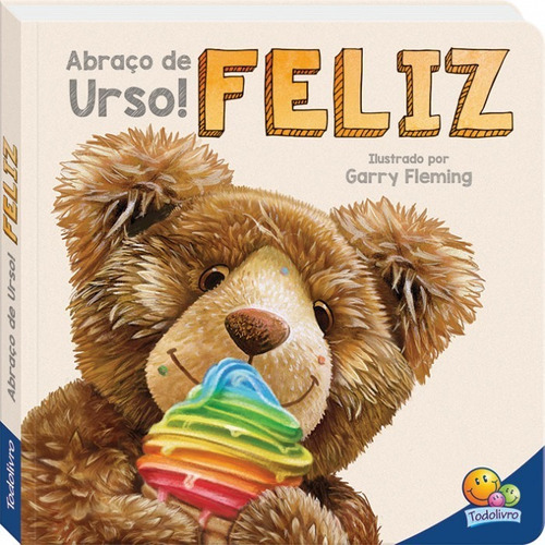 Livro Abraço De Urso Feliz Todolivro