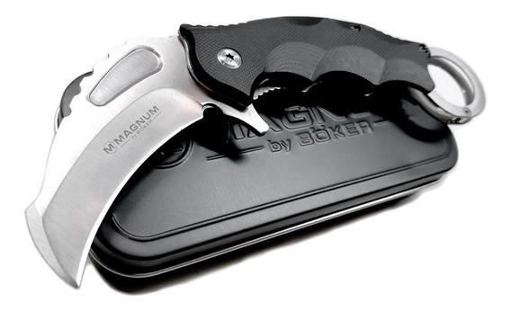 Kerambit Navaja Magnum Boker Seguridad Defensa Supervivencia
