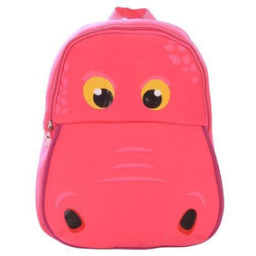 Mochila Infantil Hipopótamo-pink
