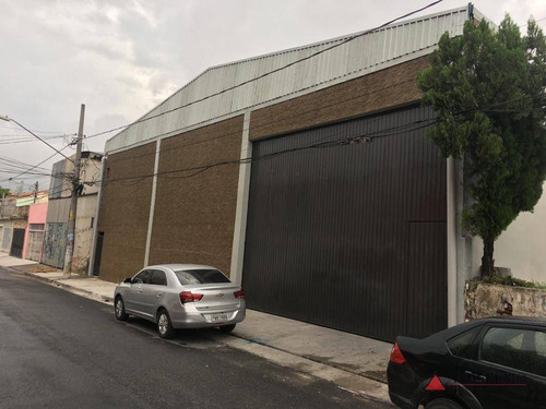 Imagem 1 de 26 de Galpão Para Alugar, 650 M² Por R$ 13.000,00/mês - Jardim Palermo - São Bernardo Do Campo/sp - Ga0412