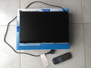 Reproductor Dvd Panasonic + Soporte
