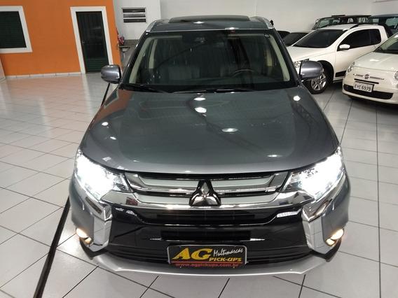 Mitsubishi Outlander Gt V6 3.0 Aut 4x4 Teto 7 Lug Top 42 Km
