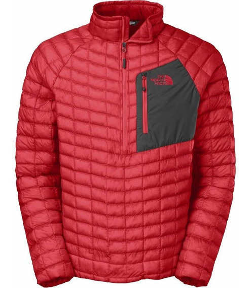 Pullover North Face Thermoball Red Black Talla M