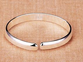 5 Bracelete Pulseira Banhado Em Prata Jóias Para Mulheres