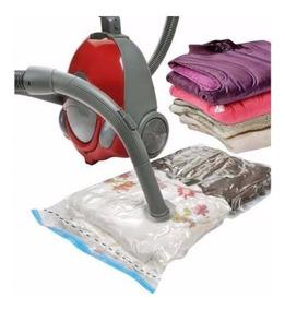 5 Sacos Embalagens A Vacuor P/ Cobertores Roupas E Edredons