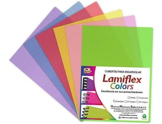10 Paquetes Lami Flex Pastas Plásticas