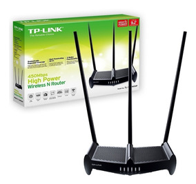 Router Wifi Tp Link Rompe Muros 941hp 450mb 9db Extensor 941