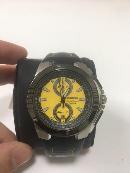 Relógio Seiko Original 7t94ac Com Nota